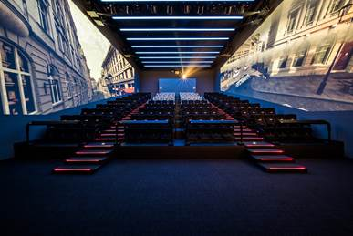 CJ4DPlex's immersive cinema technology 4DX with ScreenX is among the contenders for the top prize in the Media and Visual Communication – Entertainment category at this year's Edison Awards.