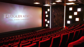 For zweiB it was the first cinema installation with the combination Alcons Audio and Dolby Atmos.