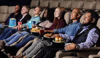 Opening to the public on December 12 in time for the premiere of Star Wars: The Rise of Skywalker, the renovation includes luxury recliners, a full lobby bar, and made-to-order food with in-seat delivery. Photo courtesy of Southern Theatres.