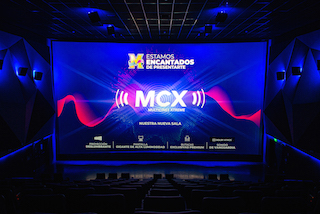 The MCX Multicines Xtreme theatre has just opened in the Condado de Quito shopping mall and is Ecuador's first cinema equipped with 4K RGB laser projection.