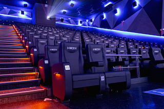 The new theatre, part of the Multicines exhibition chain, has 257 premium seats, a 15-meter screen and Dolby Atmos sound.
