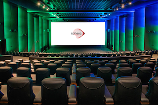 CinemaNext recently debuted its new premium format Sphera theatre concept at Village Cinemas in the Mall of Athens.