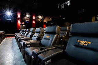 Cinema chain Hoyts is equipping four auditoriums in Melbourne and Sydney with more than 200 D-Box motion seats.