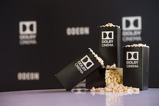 There are 225 Dolby Cinema screens open globally, with a total of more than 400 Dolby Cinema screens committed.