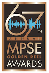 The Motion Picture Sound Editors association presented the 67th MPSE Annual Golden Reel Awards at a black-tie ceremony Sunday, January 19 at the Bonaventure Hotel in Los Angeles.