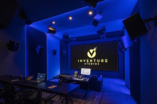 Los Angeles post house Inventure Studios has renovated its Studio C with the installation of a Severtson projection screen.