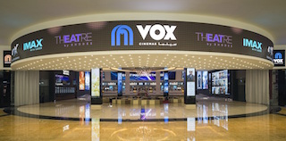 Vox Cinemas has been licensed to operate cinemas in Saudi Arabia. Its newest cinema, which will be its first multiplex in Saudi Arabia will open at Riyadh Park Mall in the coming days.
