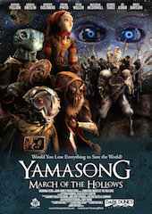 Dark Dunes Productions and Taormina Films have partnered with filmmaker Sam Koji Hale to help realize Yamasong: March of the Hollows, a fantastical puppet vision, with a screenplay by novelist Ekaterina Sedia.
