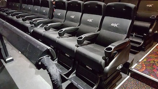 More than 300 theatres worldwide currently have 4DX seating.