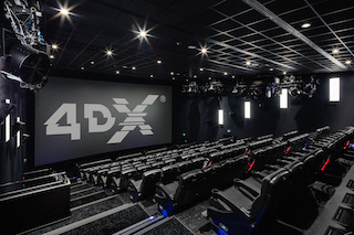CJ 4DPlex announced today that it has equipped the Hollywood Megaplex Gasometer with 4DX immersive seating, making it the first Austrian cinema with the technology.