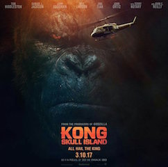 Kong: Skull Island is one of the films being released this year in the 4DX format.