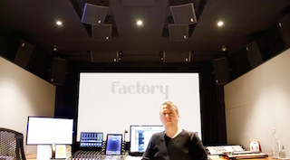 Factory sound engineer Ben Firth.