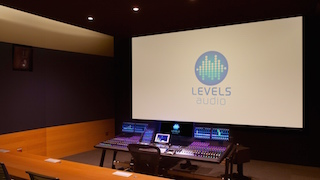 Levels Audio now features a bespoke Dolby Atmos stage.