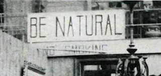 The film's title comes from the advice that Alice gave actors: Be Natural. A sign outside the Solax studio.