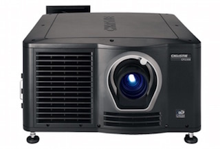 The Christie CP2308 lamp-based projector.