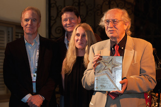 Vittorio Storaro was honored with Cine Gear's Cinematography Lifetime Achievement Award.