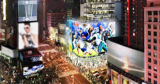 The NFL Experience Times Square has selected D-Box immersive motion seats as part of its sports-themed immersive attraction in the heart of New York City.