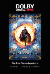 The movie screened that evening was Dr. Strange.
