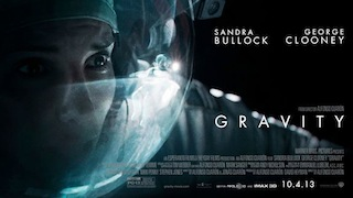 Warner Bros. Pictures' Gravity will have its New York premiere in Dolby Atmos at the AMC Lincoln Square on Tuesday, October 1.