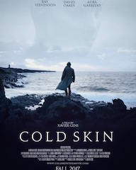 Director Xavier Gens' horror film Cold Skin premiered today in ÉclairColor HDR at Cines Verdi in Barcelona.