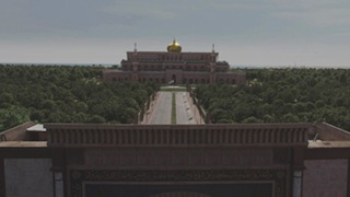 Tyrant location after Encore VFX transformed it.