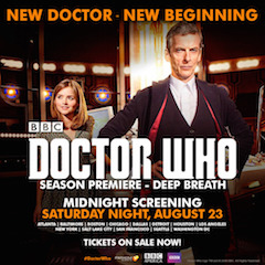 The Doctor Who series has been one of the big success stories in event cinema to date.