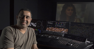 FutureWorks senior colorist Rahul Purav.