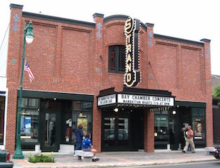 The Strand Theatre has been entertaining audiences in Rockland, Maine since 1923.