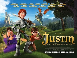 Antonio Banderas's Kandor Graphics produced Justin and the Knights of Valour in 3D.