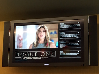 Rogue One opensin theatres December 16.
