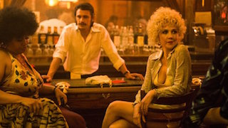 HBO's drama series The Deuce stars James Franco and Maggie Gyllenhaal and shot by DP Vanja Cernjul.