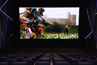 Samsung Electronics today announced that it has installed its first commercial Cinema LED Screen at Lotte Cinema World Tower in Korea.