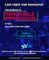The Screenvision Media Upfront featured interactive participation before, during and after the event itself.