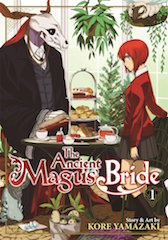 Crunchyroll, Kaos Connect and Screenvision Media will screen the first three episodes of The Ancient Magus' Bride July 26.