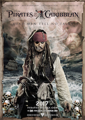 Pirates of the Caribbean: Dead Men Tell No Tales is the first Disney film to be converted into the ScreenX format.