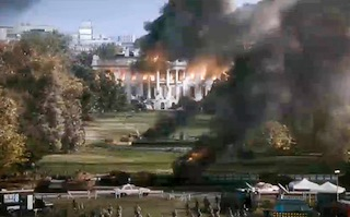 A VFX scene from White House Down