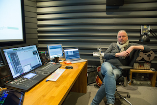 Gisle Tveito, a 26-year veteran, supervising sound editor, dubbing mixer, and one of the owners of Storyline.