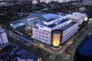 Aerial shot of the Academy Museum of Motion Pictures. ©Academy Museum Foundation