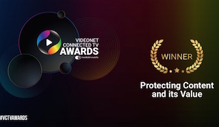 Nagra's IP Blocking solution has won the top spot in the Protecting Content and its Value category of the Videonet Connected TV awards.